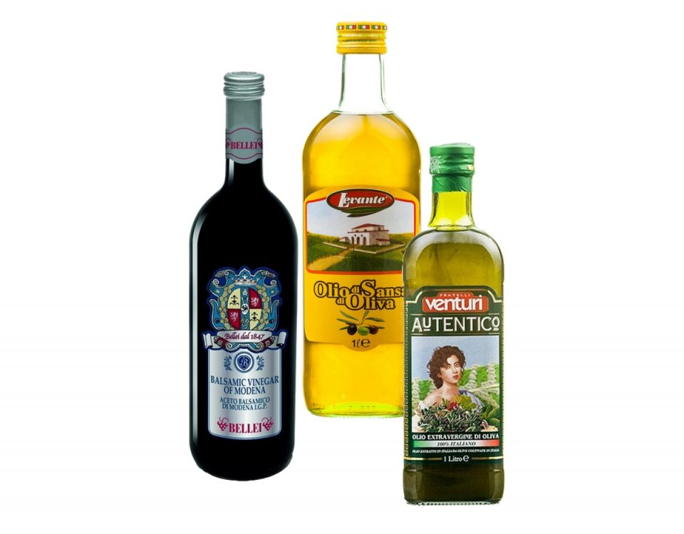 Oliwy i octy z Włoch