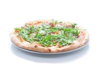 pizza z salami i mascarpone