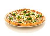 pizza wegańska z brokulem